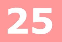 Significato del Numero Angelico 25