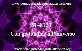 Grigori Grabovoi gratitudine all'universo