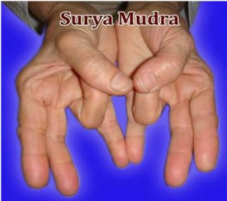 Surya-Mudra