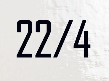 """I numeri del destino """"22/4"""""""