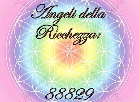 Attivazione del codice Sacro 88829 Angeli della Ricchezza