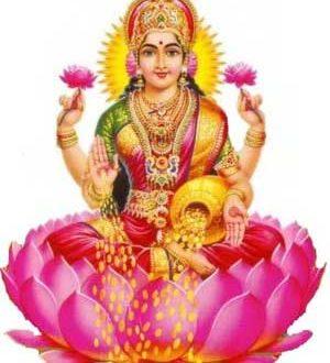 Le otto forme della Dea dell'abbondanza Lakshmi
