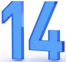 Significato del Numero Angelico 14