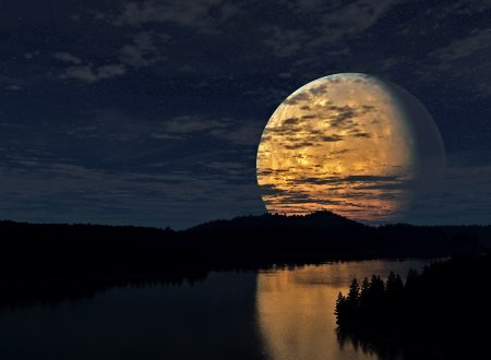 Luna piena del 09 giugno