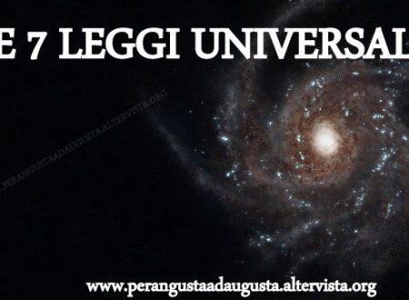 Le 7 leggi universali
