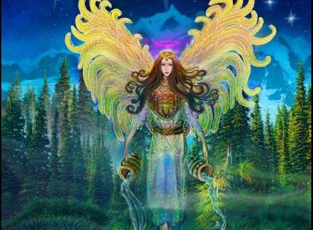 Invocazione all'Arcangelo Jophiel per ricevere l'illuminazione.