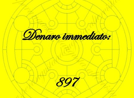 """Attivazione del Codice Sacro """"897 Denaro Immediato"""""""