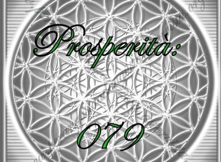 """Codice Sacro """"079 Prosperità"""""""