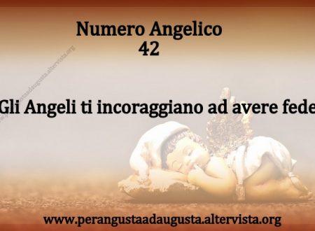 Significato dei Numeri Angelici dal Nr.42 al Nr. 51