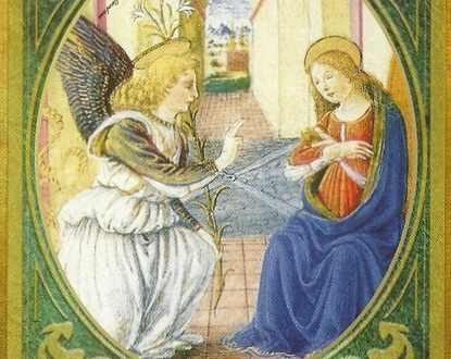 Oracolo dell'Arcangelo Gabriele del  14 aprile