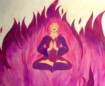 Trasmutare l'energia negativa in positiva con il Fuoco Violetto
