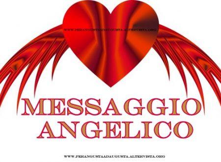 Messaggio Angelico del 25 aprile