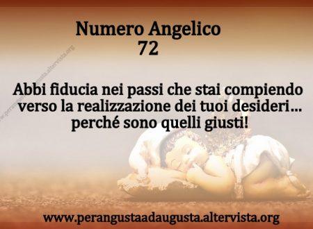 Significato dei Numeri Angelici dal Nr.72 al Nr.81