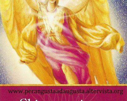 L'Oracolo dell'Arc. Raguel  del 31 maggio