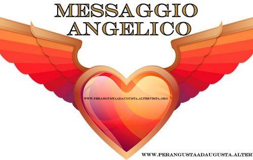 Messaggio Angelico del 31 agosto