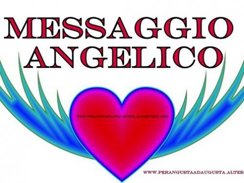Messaggio Angelico del 30 marzo