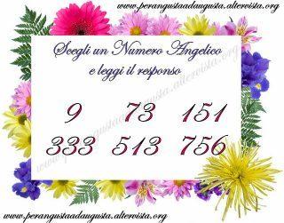 Scegli un numero Angelico e leggi il responso