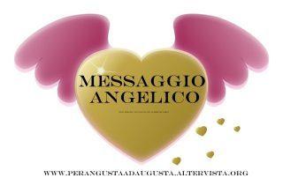 Messaggio Angelico del 31 luglio
