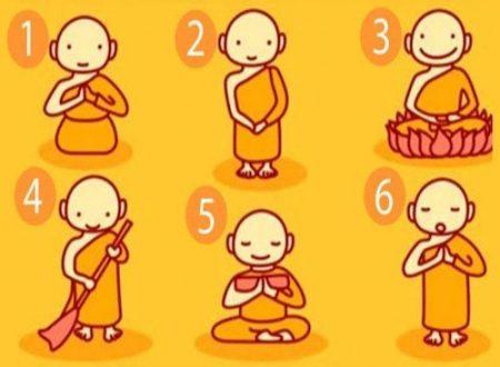 Test: Scegli un monaco buddista che svela un potente messaggio