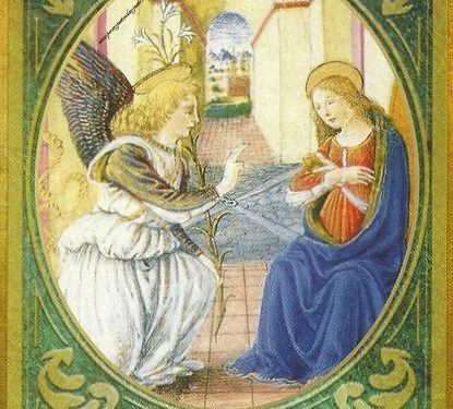 Oracolo dell'Arcangelo Gabriele del 22 settembre