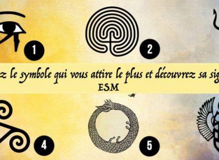 Test: Scegli il simbolo che più ti attira e scopri il suo significato