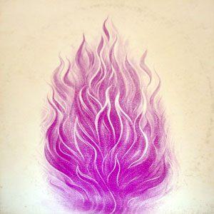 Meditazione del perdono con la fiamma violetta