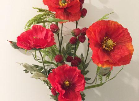 "L'Energia curativa dei fiori: ""Papavero con l'Arcangelo Sandalphon"""