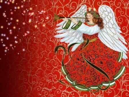 Angeli del Natale: L'angioletto del Presepe