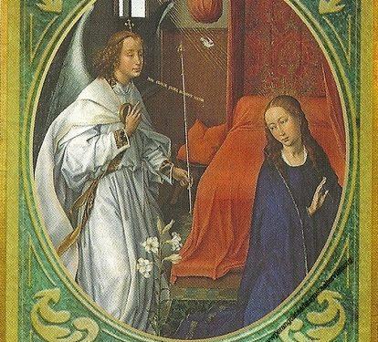 Oracolo dell'Arcangelo Gabriele del 31 gennaio