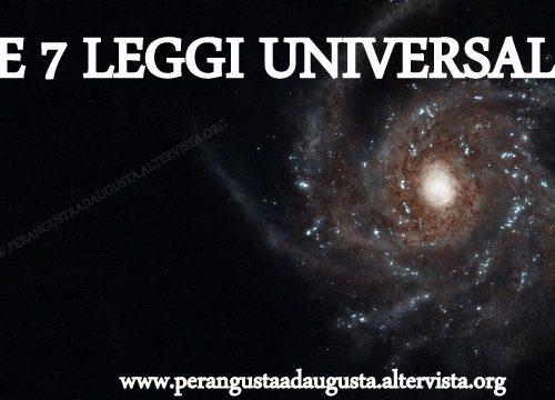 Metafisica: i Sette Principi Universali