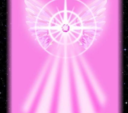 Armonizzazione angelica Raggio dell'Angelo dell'Amore