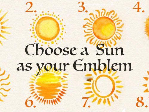 Test: Scegli un sole come emblema: scopri la tua forza magica