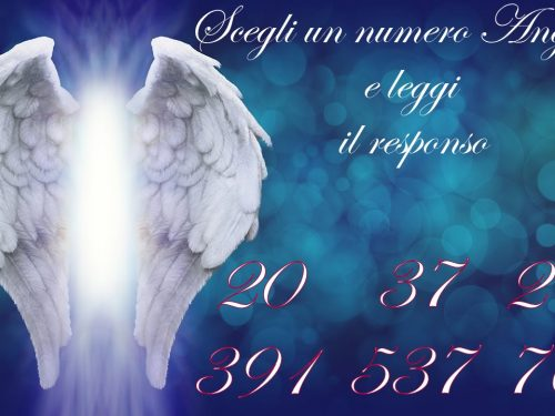 Scegli un numero Angelico e leggi il responso con video
