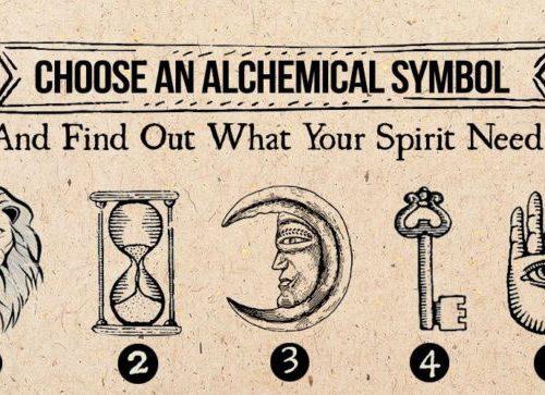Test: Scegli un simbolo alchemico: scopri cosa desidera il tuo Spirito