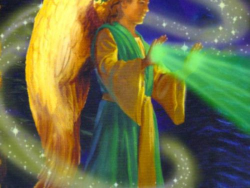 Armonizzazione angelica: Il Raggio d'Oro dell'Arcangelo Raffaele